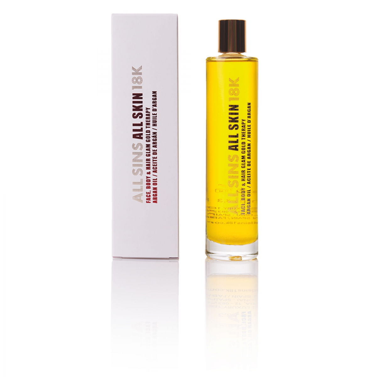 FACE, BODY & HAIR GLAM GOLD THERAPY