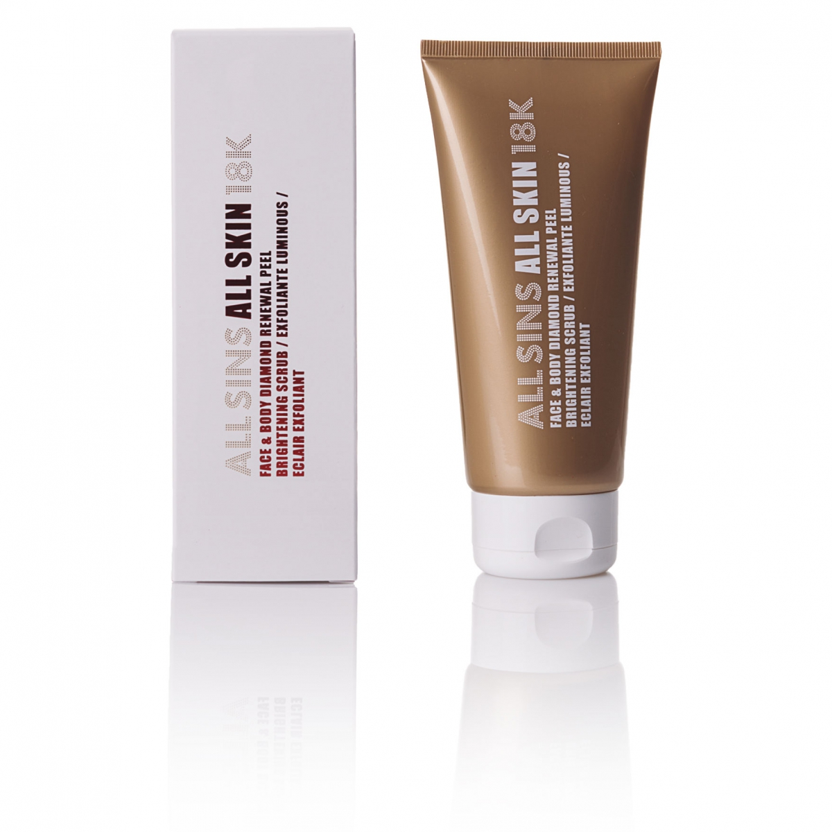 FACE & BODY DIAMOND RENEWAL PEEL BRIGHTENING SCRUB